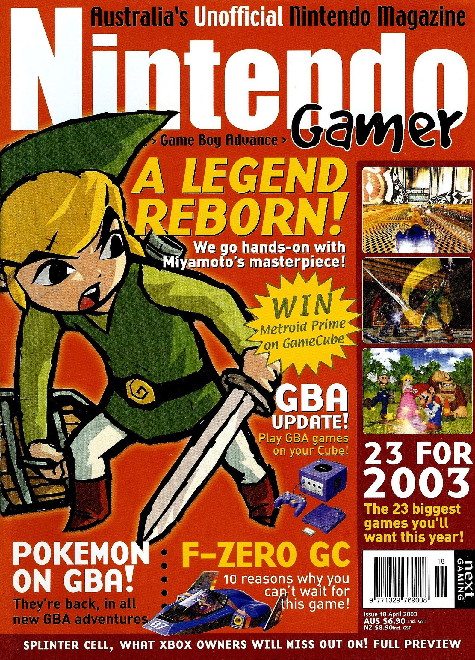 Nintendo Gamer Issue 18 (April 2003)