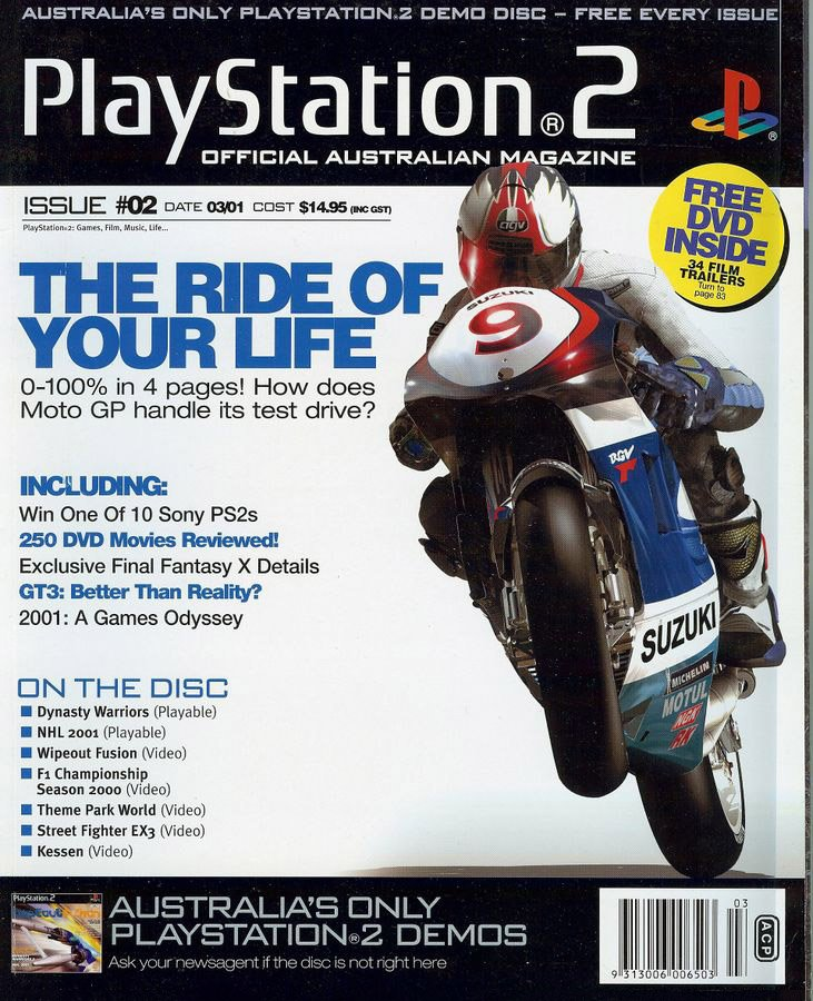 Playstation 2 Official Magazine (AUS) Issue 02 (March 2001)