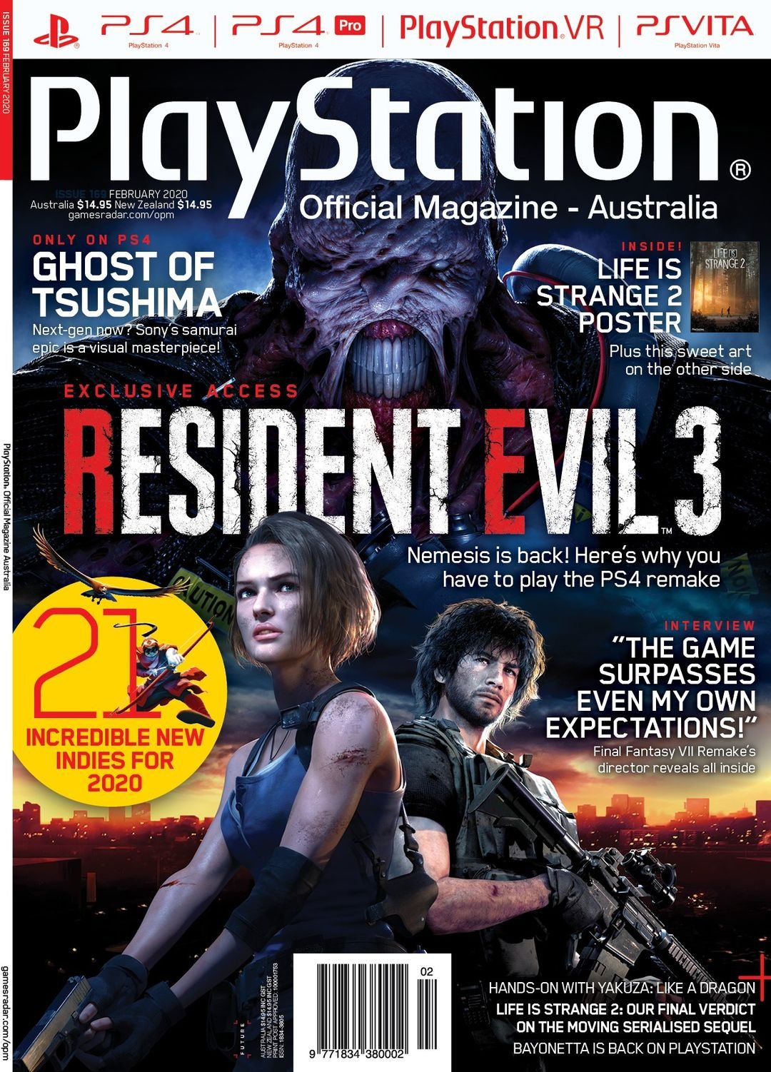 PlayStation Official Magazine Issue 169 (February 2020)