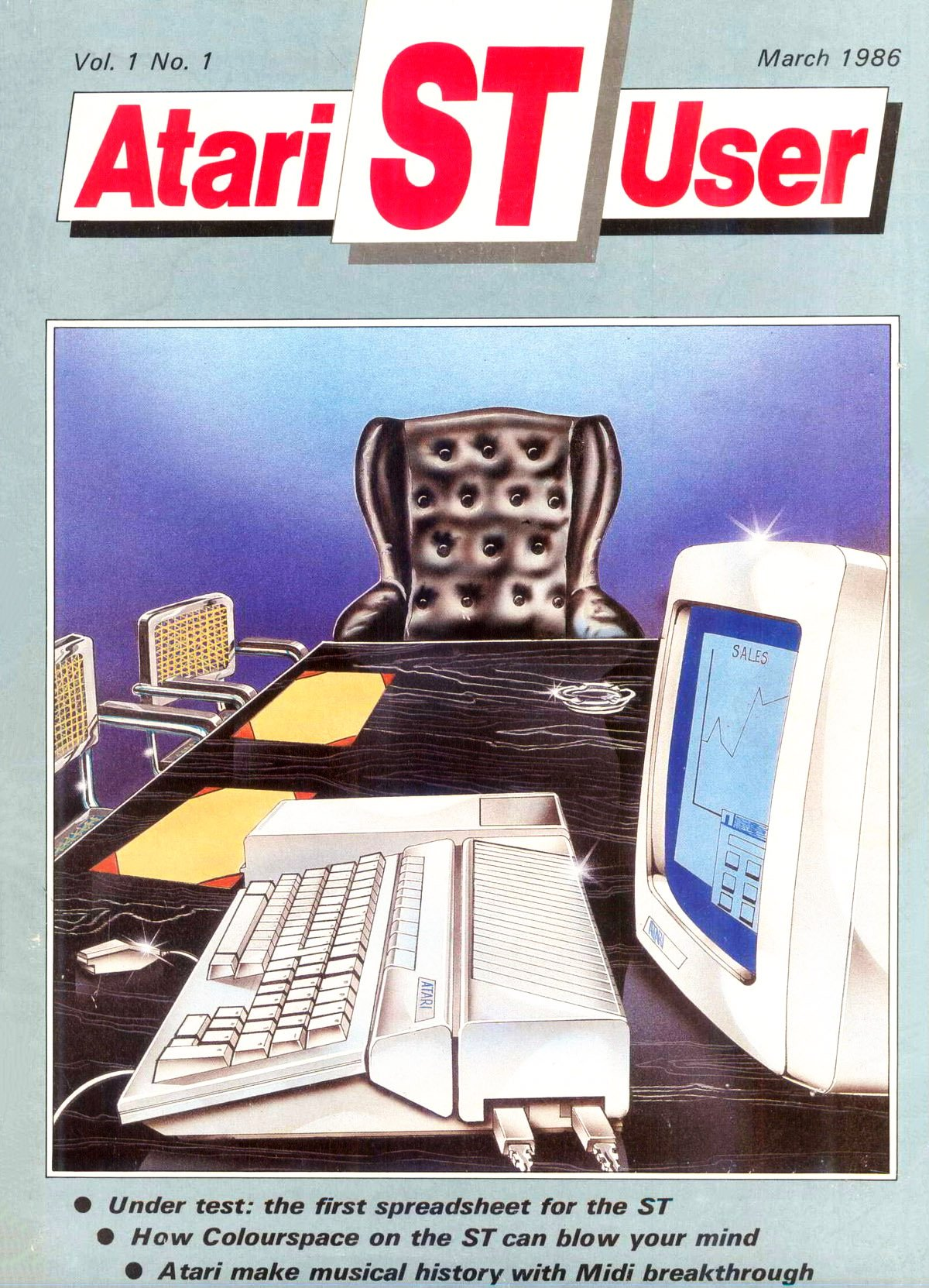 Atari ST User Issue 01 (March 1986)