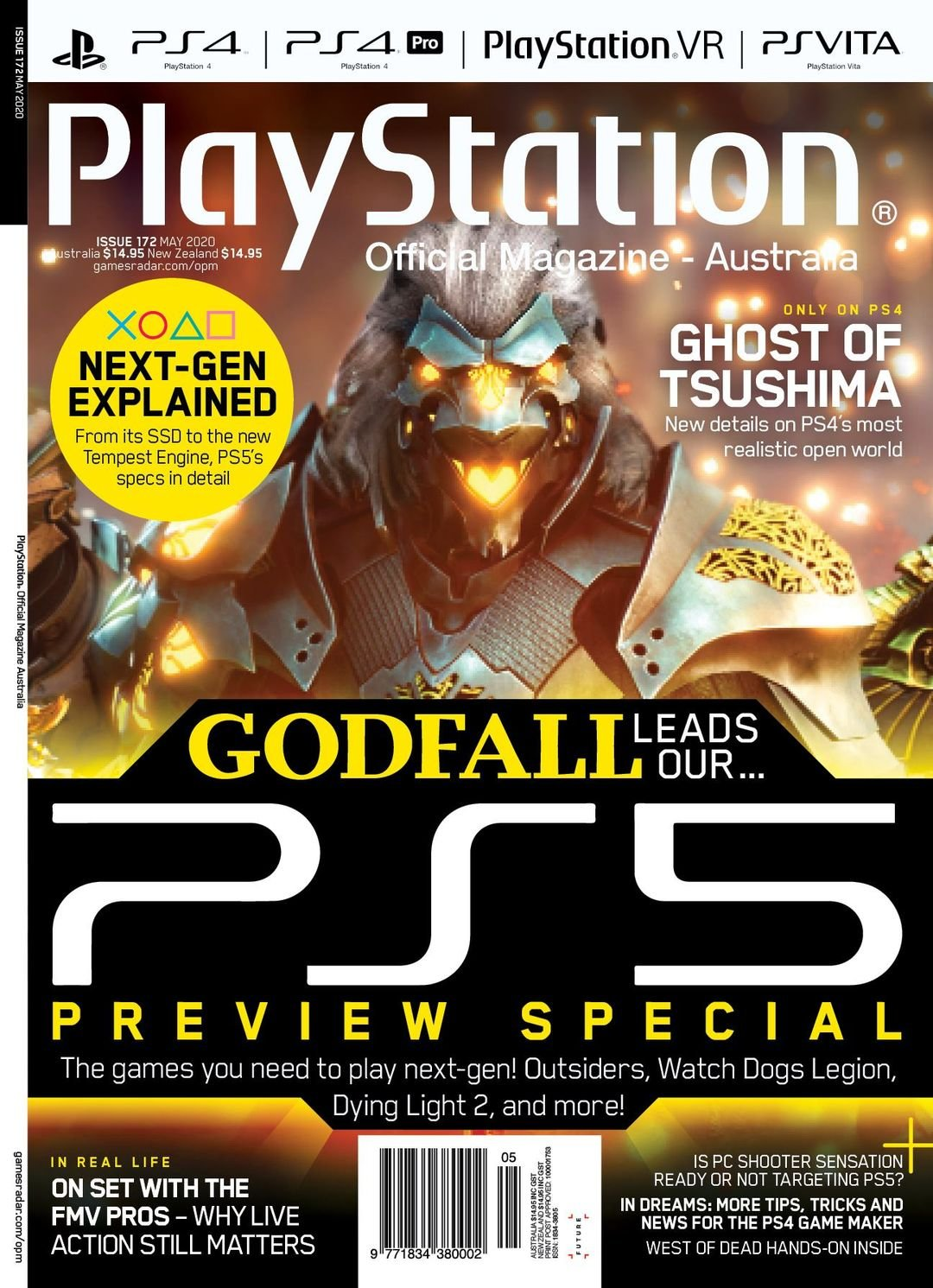 PlayStation Official Magazine Issue 172 (May 2020)
