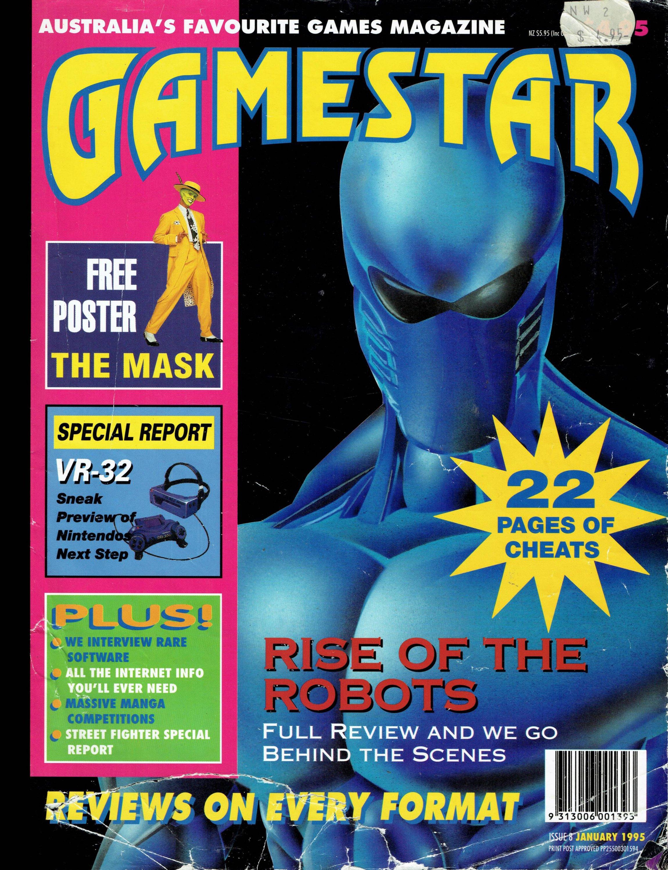 Gamestar 08 (January 1995)