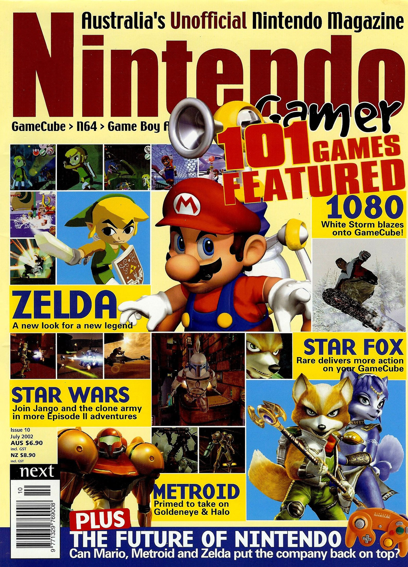 Nintendo Gamer Issue 10 (July 2002)