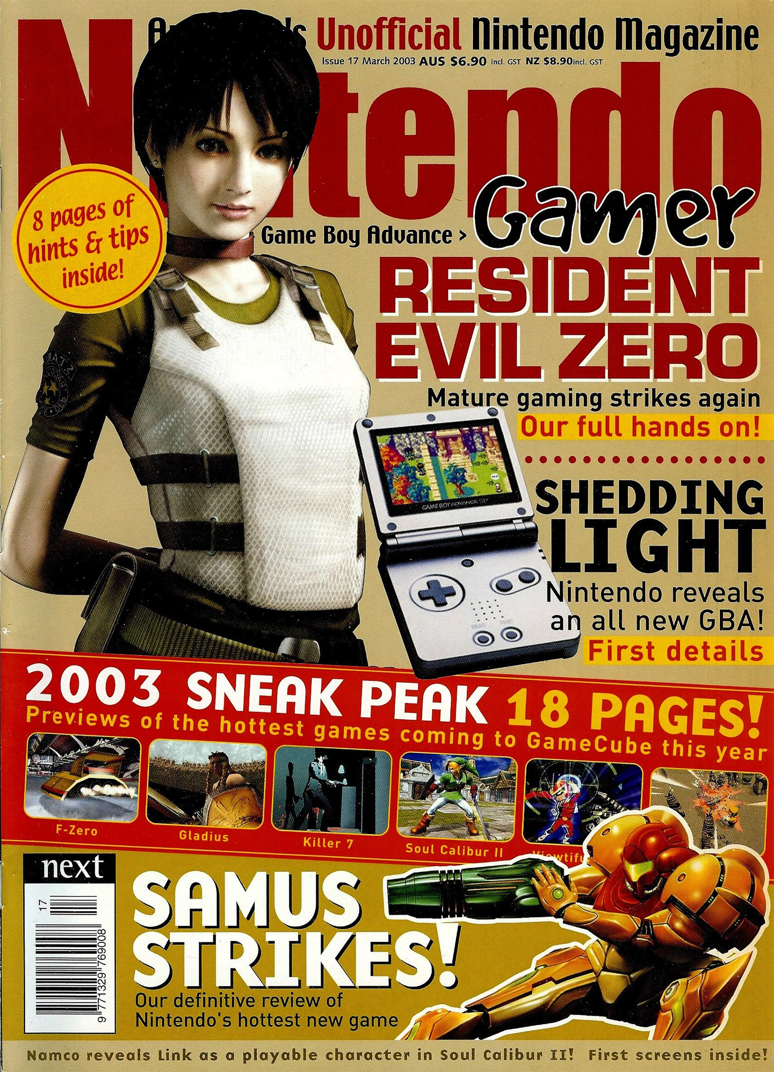 Nintendo Gamer Issue 17 (March 2003)