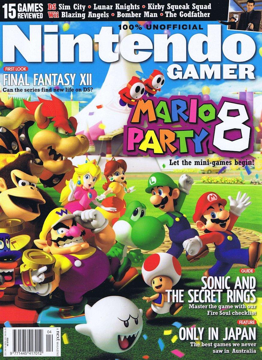 Nintendo Gamer Issue 04 (July 2007)