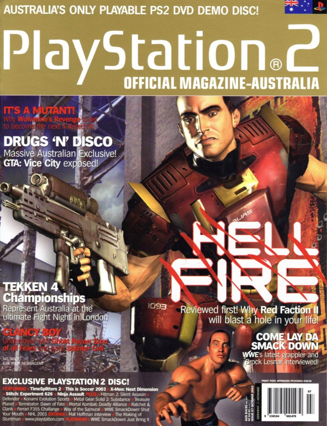 Playstation 2 Official Magazine (AUS) Issue 07 (October 2002)