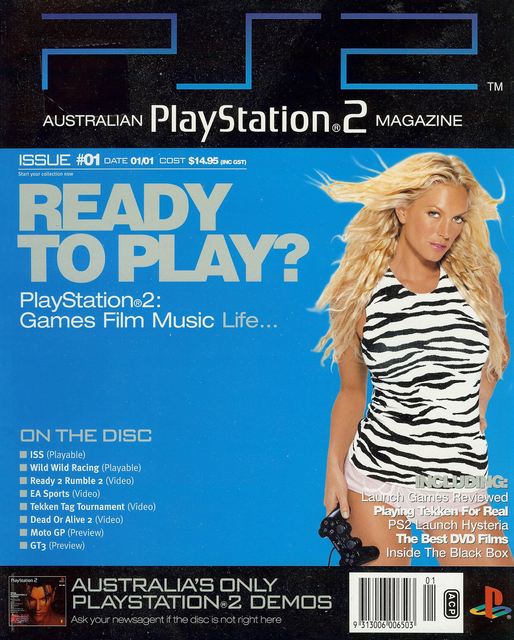 Playstation 2 Official Magazine (AUS) Issue 01 (January 2001)