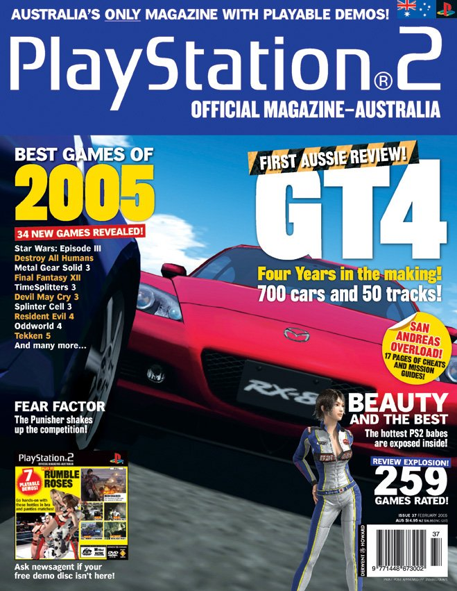 Playstation 2 Official Magazine (AUS) Issue 37 (February 2005)