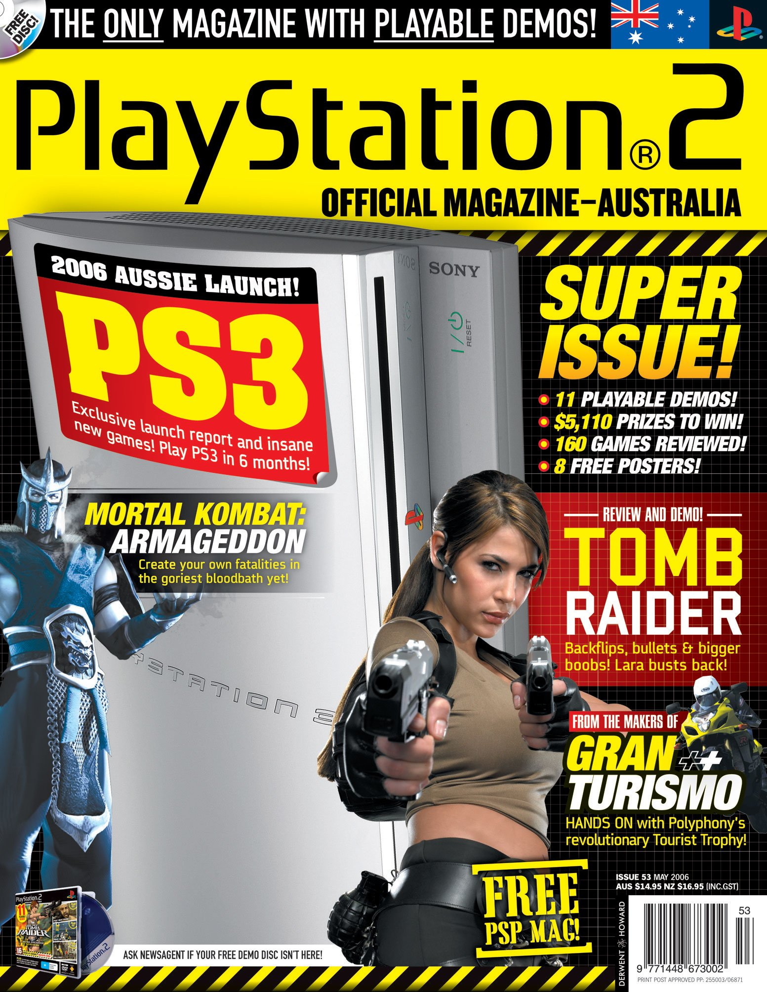 Playstation 2 Official Magazine (AUS) Issue 53 (May 2006)