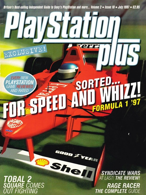 PlayStation Plus Issue 022 (July 1997)