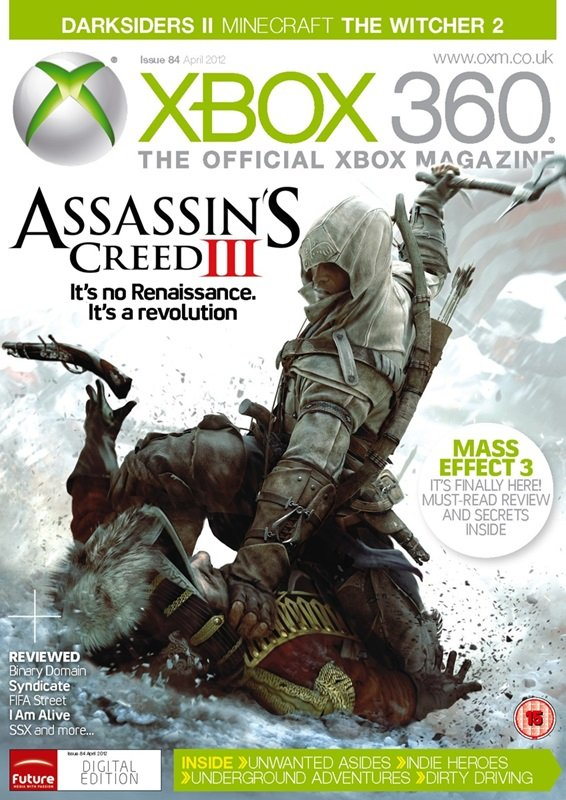 XBOX 360 The Official Magazine Issue 084 April 2012