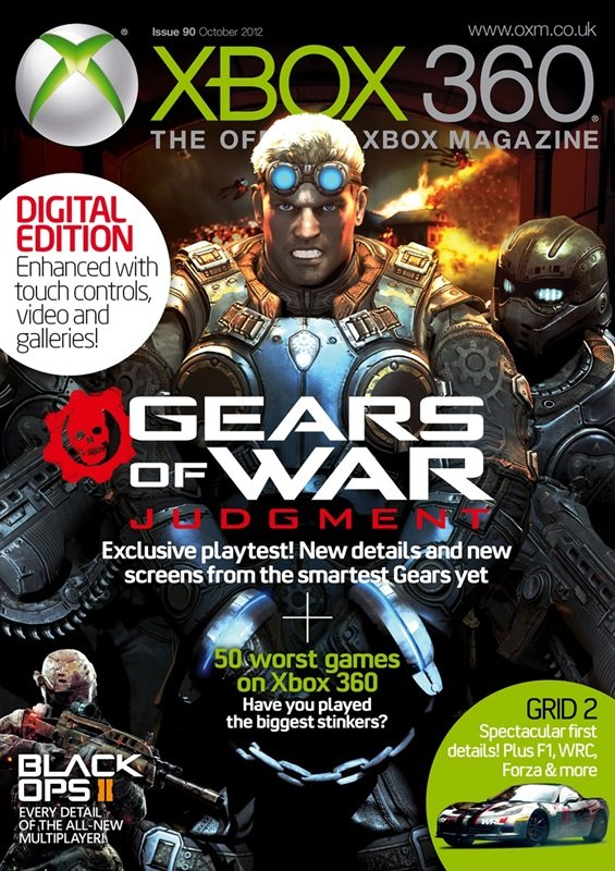 XBOX 360 The Official Magazine Issue 090 October 2012 *Digital edition*