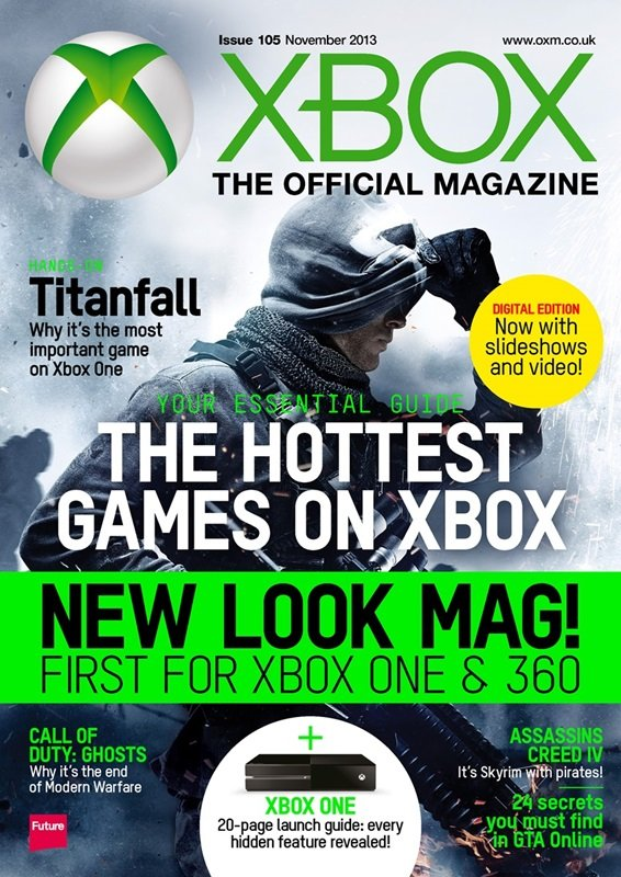 XBOX 360 The Official Magazine Issue 105 December 2013