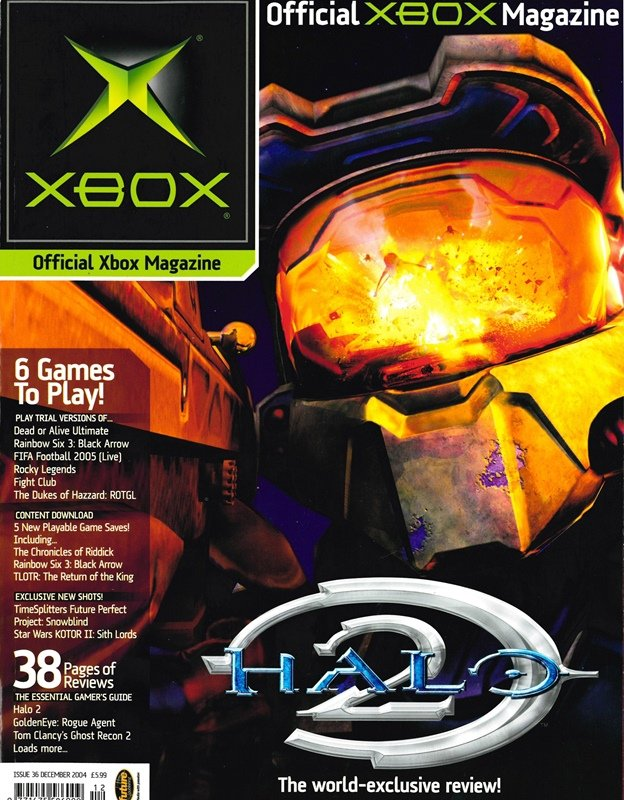Official UK Xbox Magazine Issue 36 - December 2004