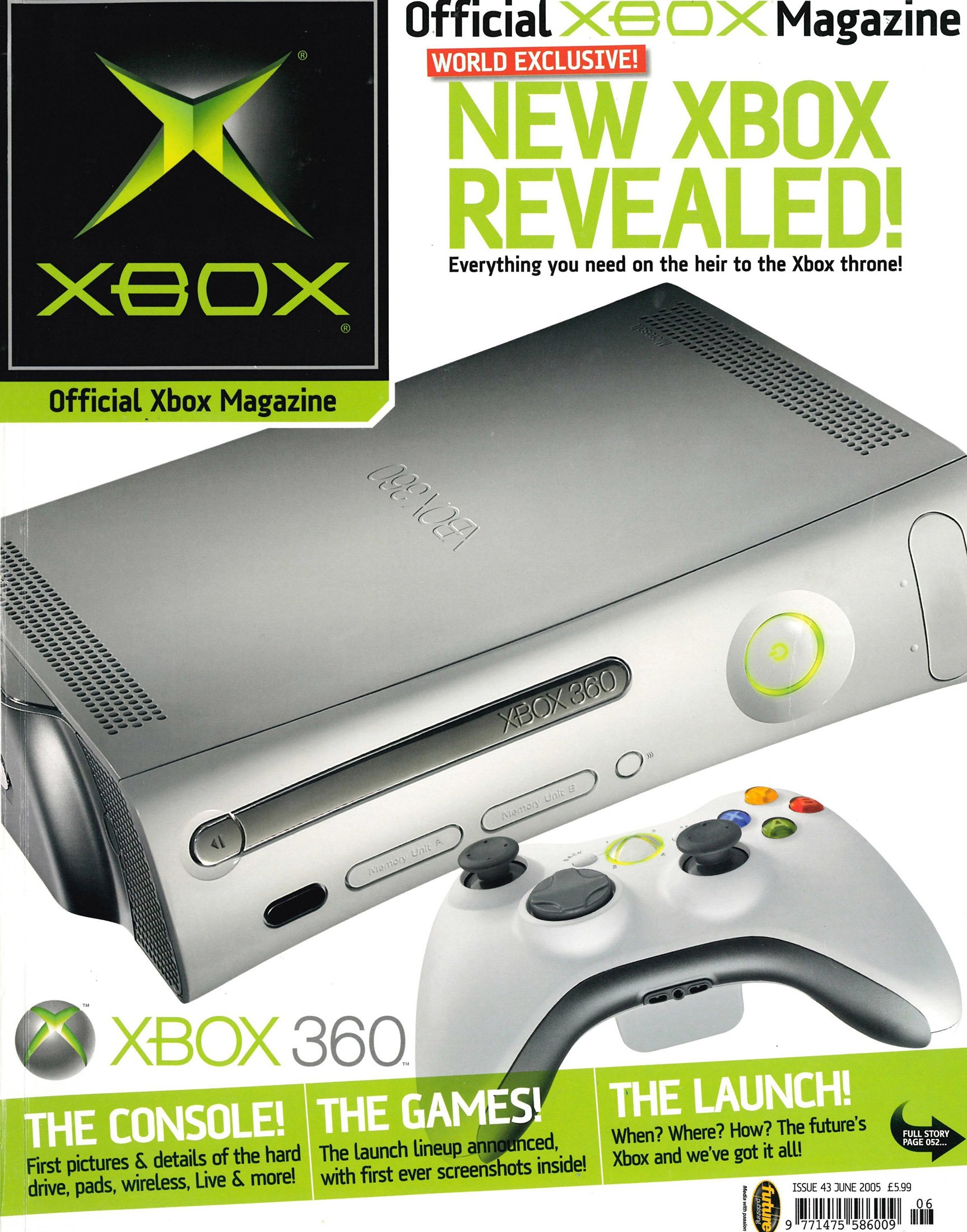 Official UK Xbox Magazine Issue 43 - June 2005