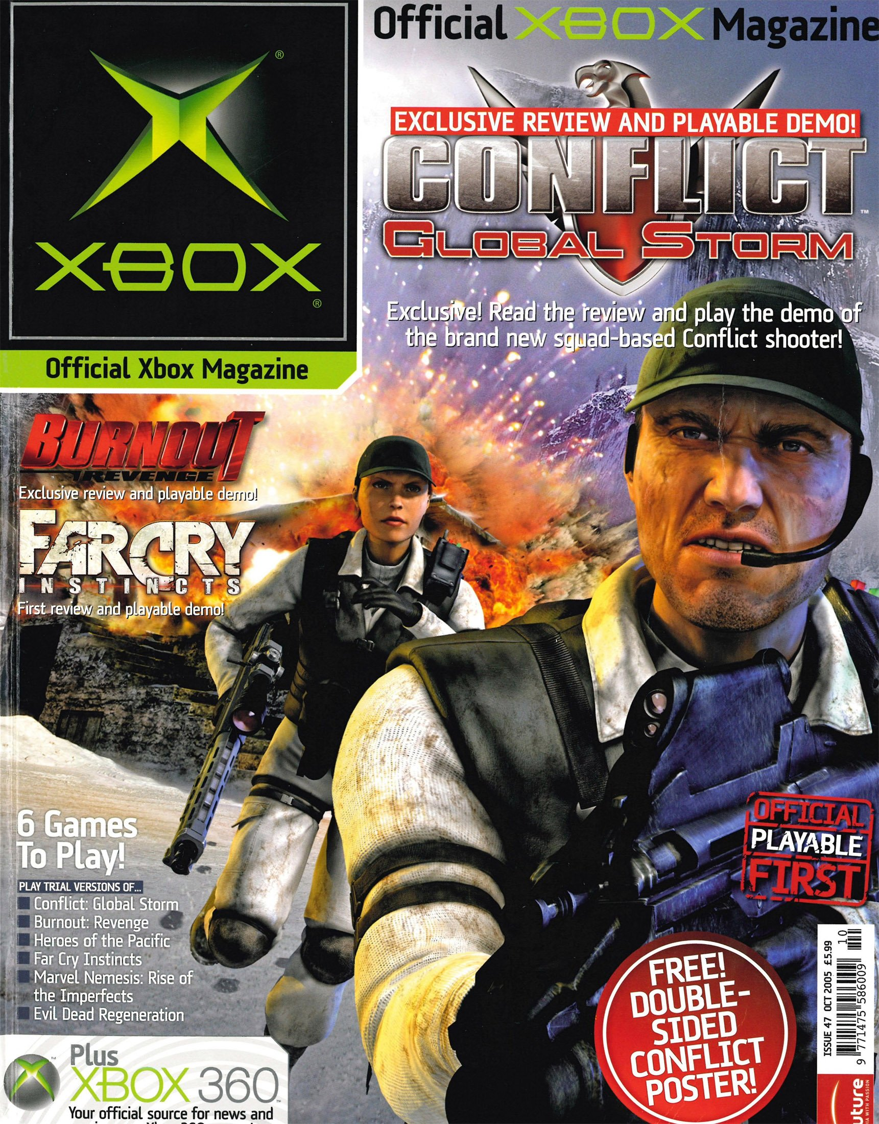 Official UK Xbox Magazine Issue 47 - October 2005
