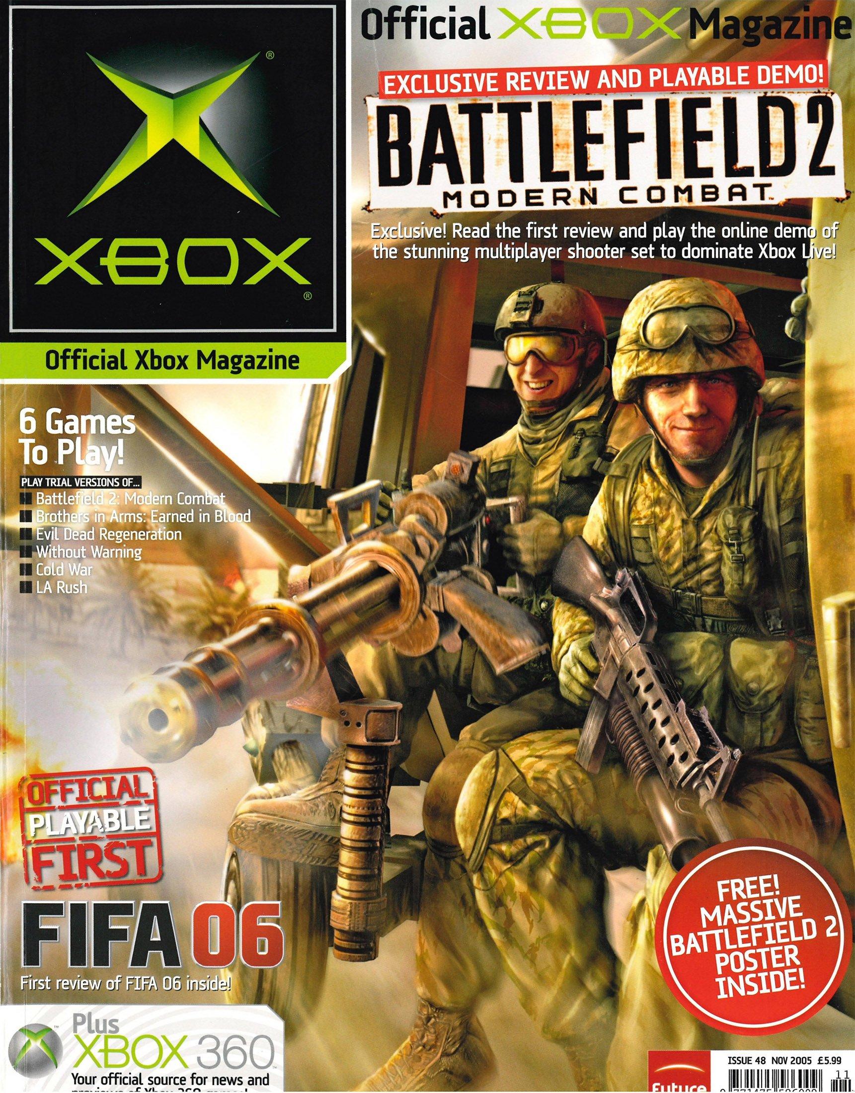 Official UK Xbox Magazine Issue 48 - November 2005