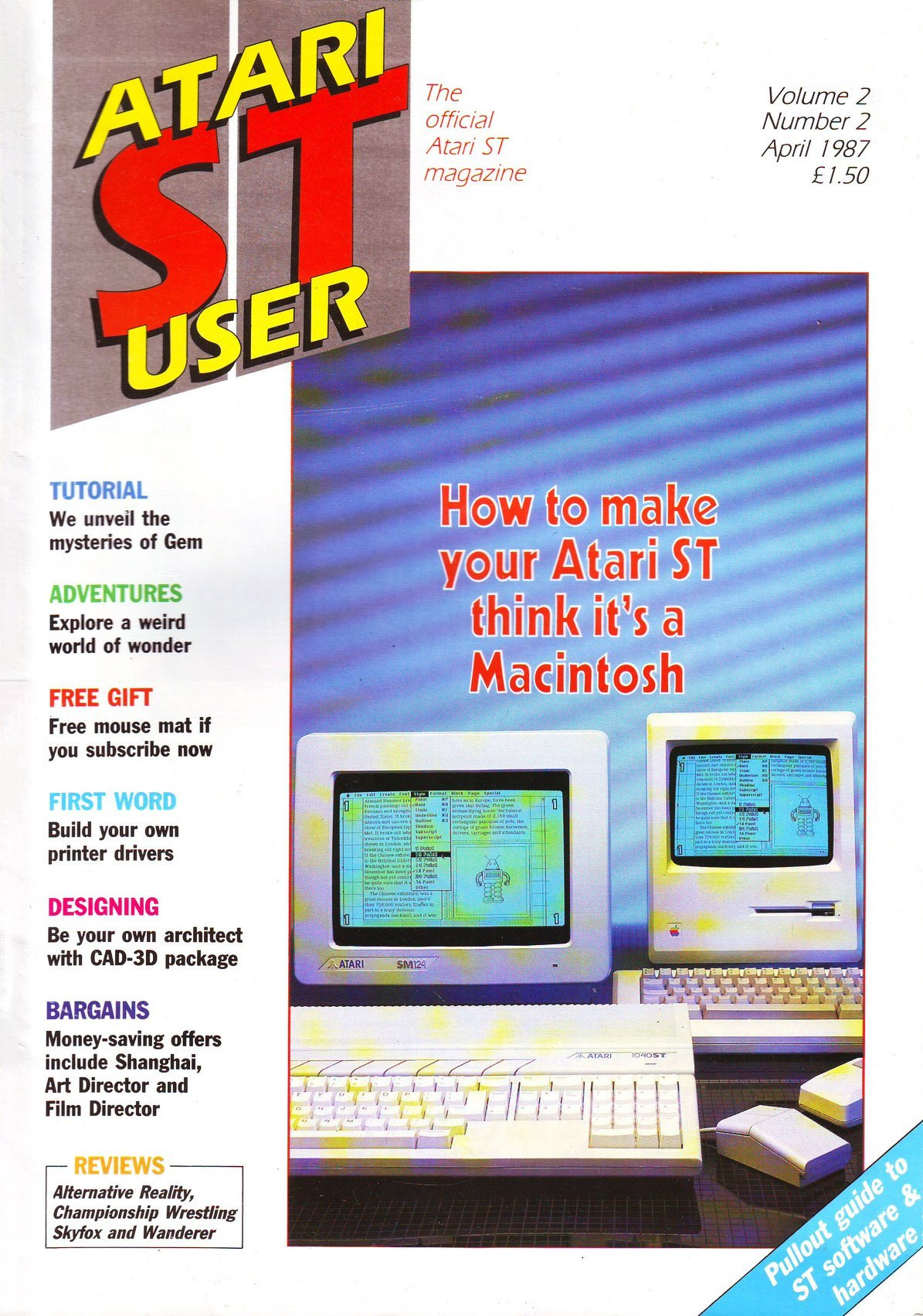 Atari ST User Issue 14 (April 1987)