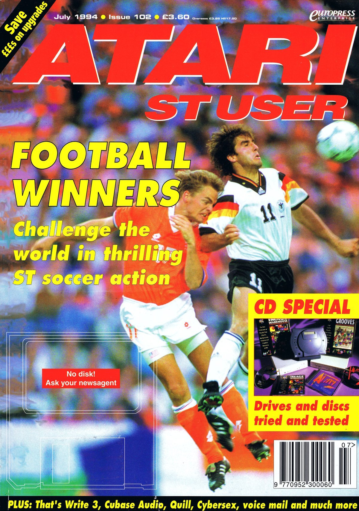 Atari ST User Issue 102 (July 1994)