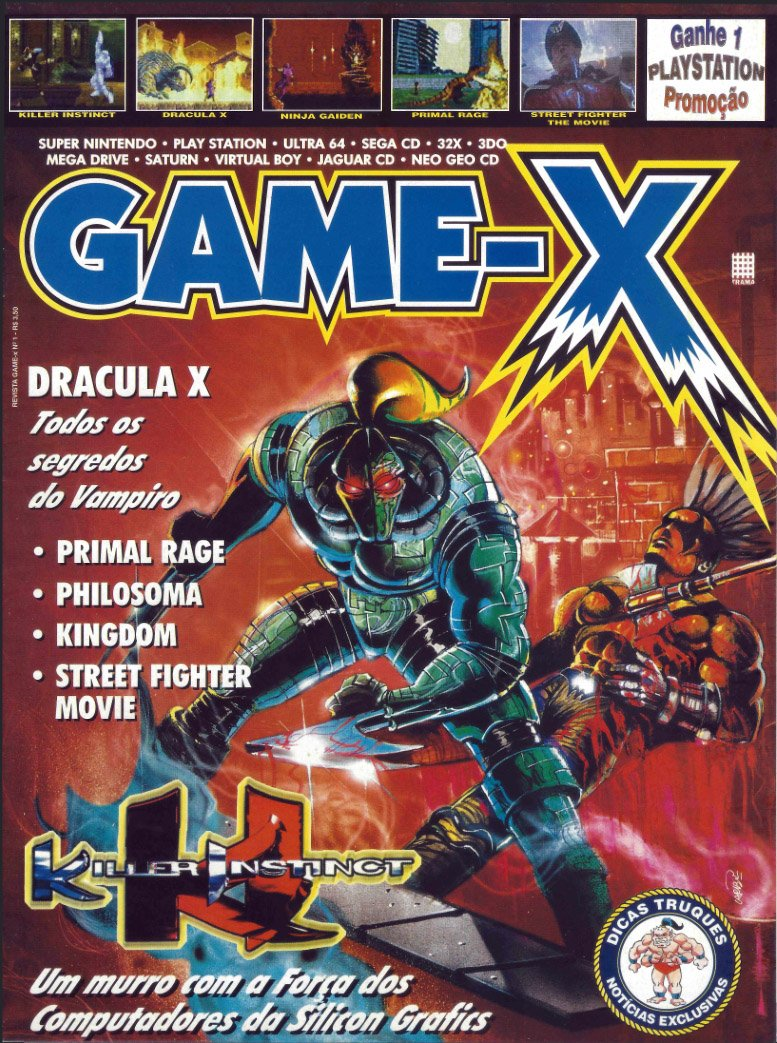 Game-X Issue 01
