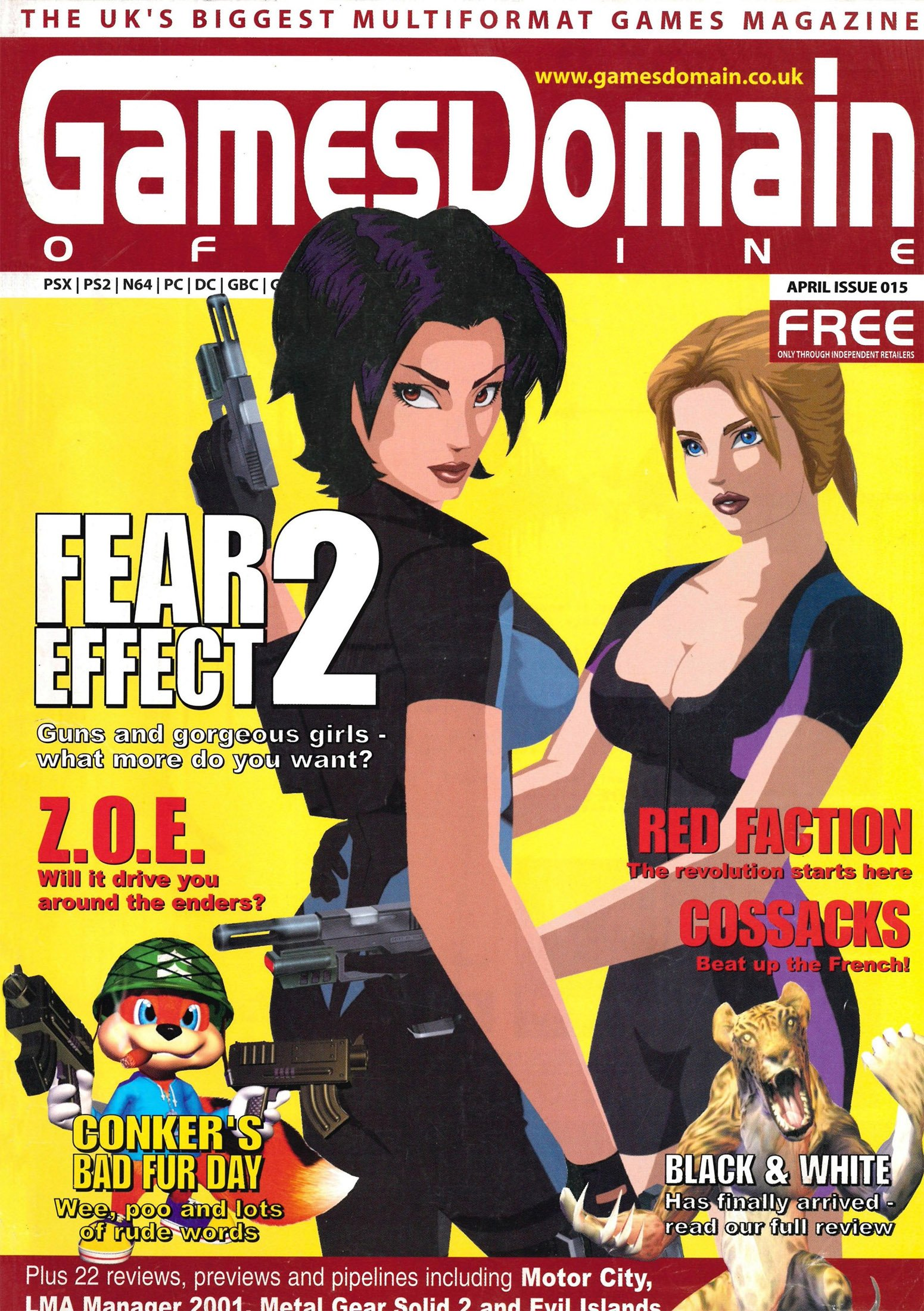 Games Domain Offline Issue 15 (April 2001)