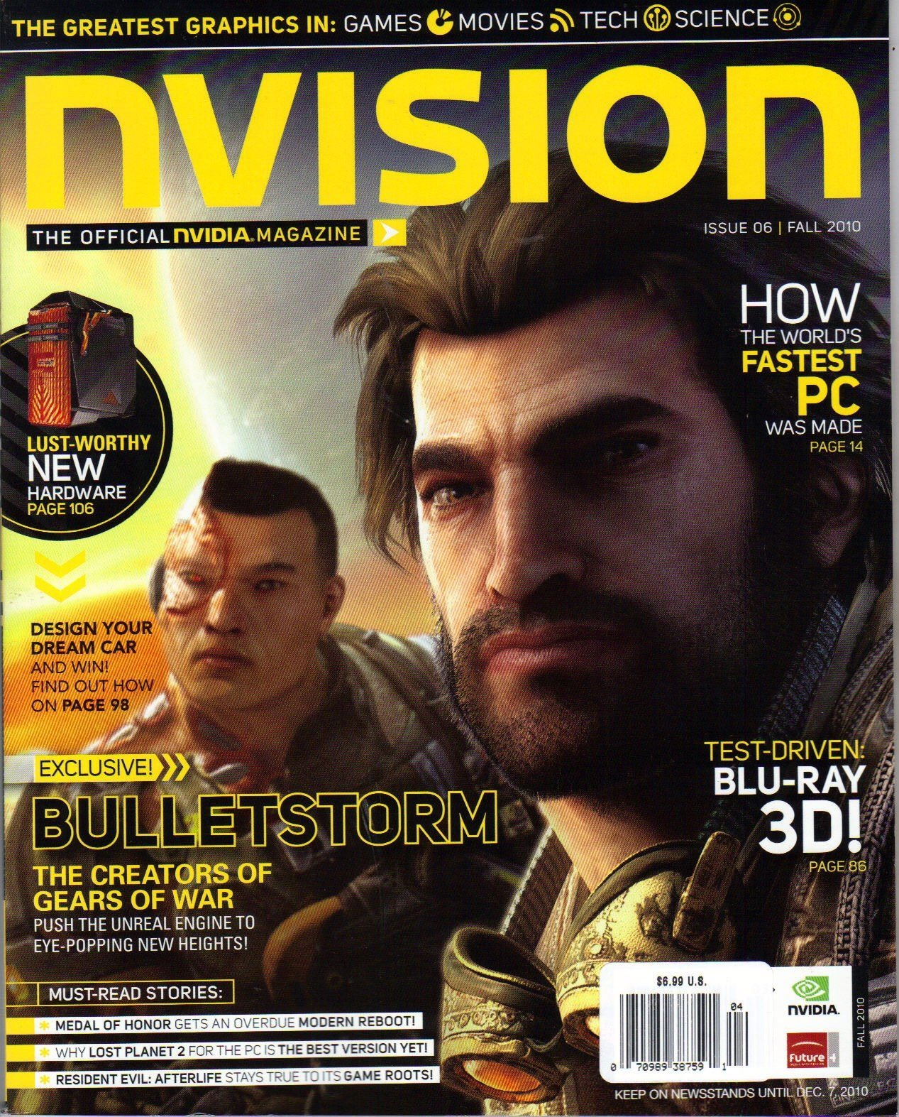 nVision Issue 06 (Fall 2010)