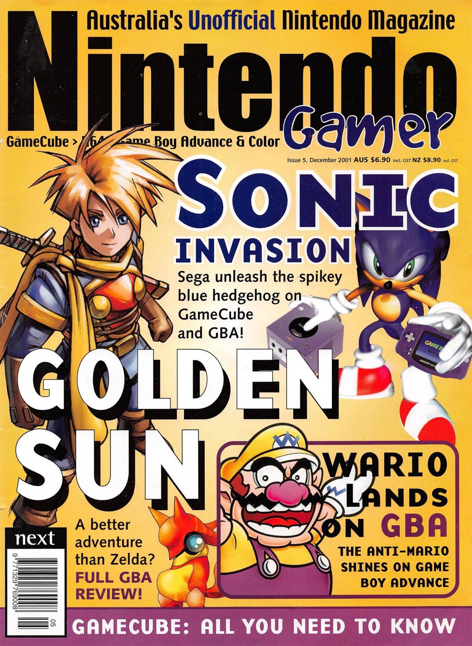 Nintendo Gamer Issue 05 (December 2001)