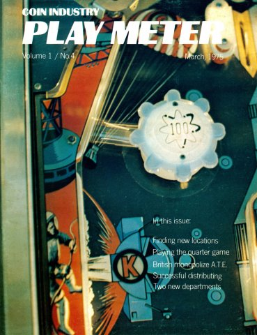 Play Meter Vol.1 No.4 (March 1975)