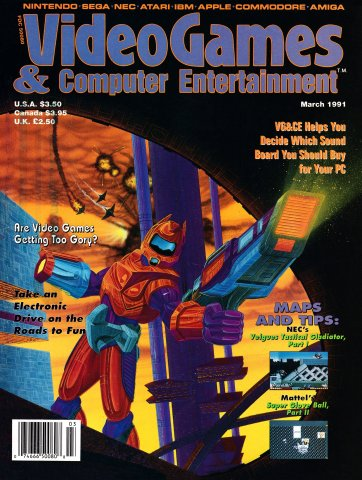 Video Games & Computer Entertainment Issue 26 March 1991
