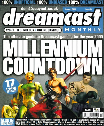 Dreamcast Monthly Issue 04 (January 2000)