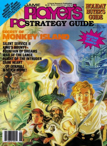Game Player's PC Strategy Guide Volume 3 Number 6 (November/December 1990)