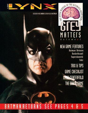 Grey Matters Volume 3 (1992)