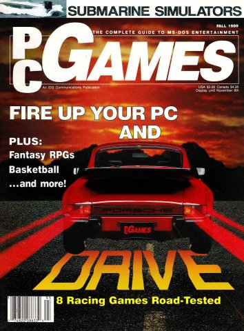 PCGames Issue 04 (Fall 1989)