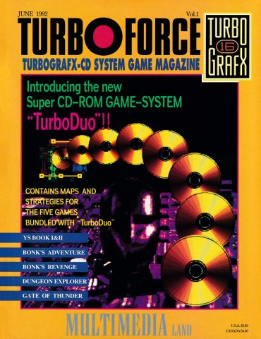 Turbo Force Issue 1