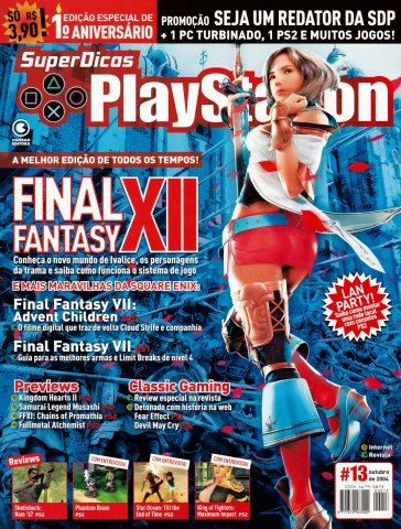 Super Dicas Playstation 13 (October 2004)