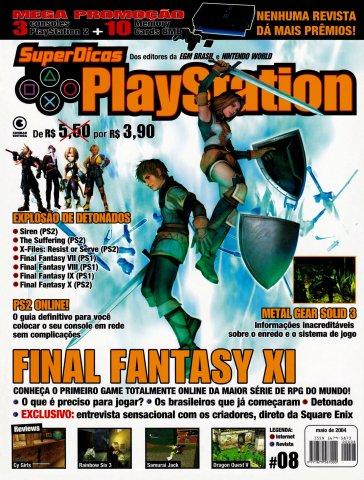 Super Dicas Playstation 08 (May 2004)