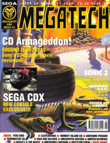 MegaTech 26 (February 1994)