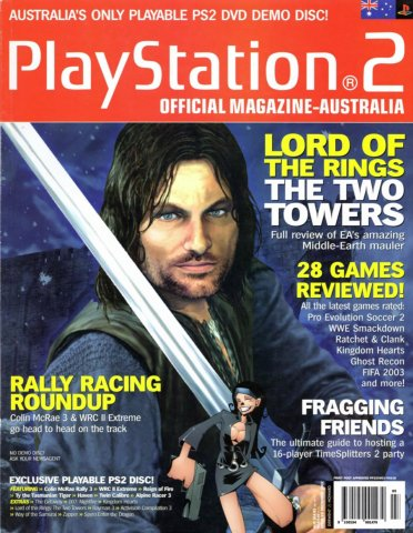 Playstation 2 Official Magazine (AUS) Issue 09 (December 2002)