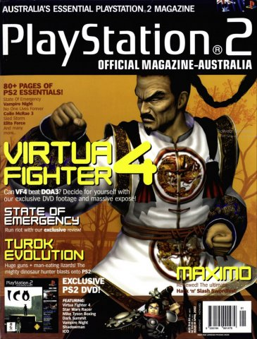 Playstation 2 Official Magazine (AUS) Issue 01 (April 2002)
