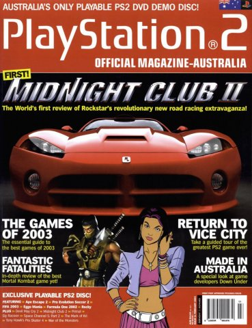 Playstation 2 Official Magazine (AUS) Issue 11 (February 2003)