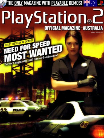 Playstation 2 Official Magazine (AUS) Issue 47 (December 2005)