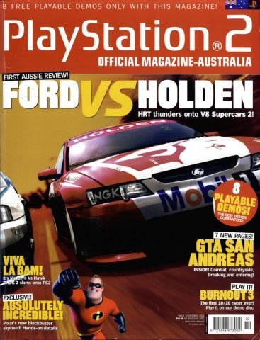 Playstation 2 Official Magazine (AUS) Issue 32 (October 2004)