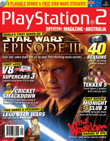 Playstation 2 Official Magazine (AUS) Issue 40 (April 2005)