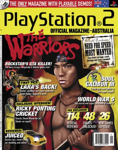 Playstation 2 Official Magazine (AUS) Issue 41 (June 2005)