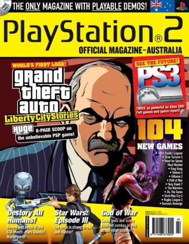 Playstation 2 Official Magazine (AUS) Issue 42 (July 2005)