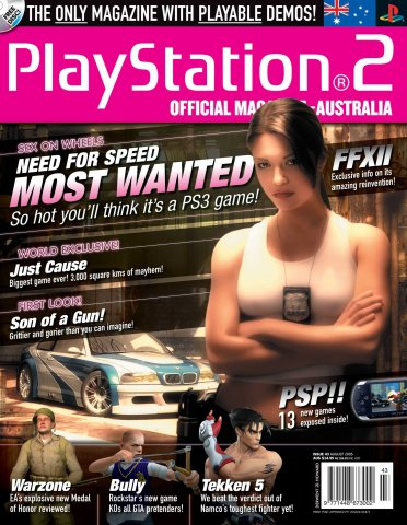 Playstation 2 Official Magazine (AUS) Issue 43 (August 2005)