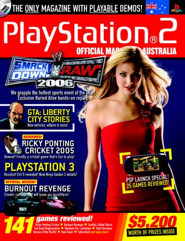 Playstation 2 Official Magazine (AUS) Issue 45 (October 2005)