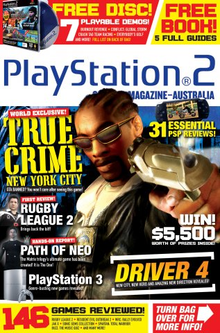 Playstation 2 Official Magazine (AUS) Issue 46 (November 2005) *subscriber version*