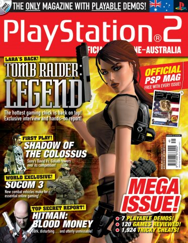 Playstation 2 Official Magazine (AUS) Issue 49 (January 2006)