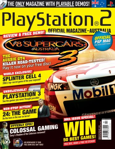 Playstation 2 Official Magazine (AUS) Issue 50 (February 2006)